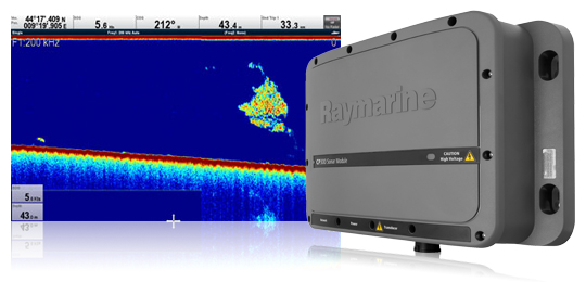 Depth Transducers for CP300 Digital Sonar Module | Raymarine
