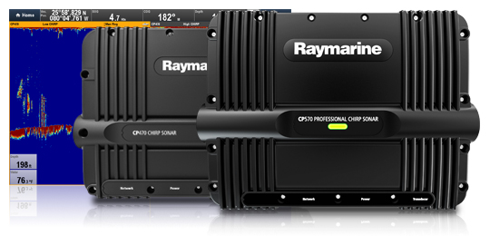 Dual Element Transducers for CP470 and CP570 Digital Sonar Module | Raymarine by FLIR