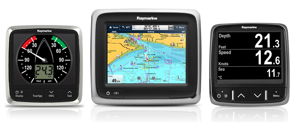 i60 with aSeries and i70 | Raymarine