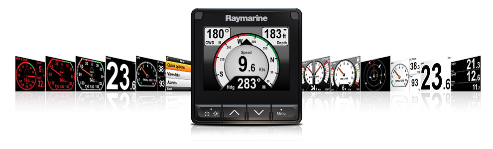 Interfaccia utente i70s LightHouse | Raymarine by FLIR
