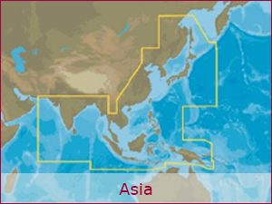 C-MAP Cartography - Asia Bundle | Raymarine Cartography