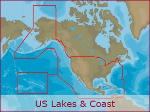 C-MAP Cartography - US Bundle | Raymarine Cartography