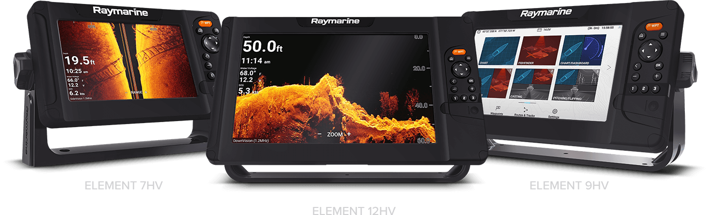 Element - Disponibile con schermi da 7, 9 e 12 pollici | Raymarine - Un marchio FLIR
