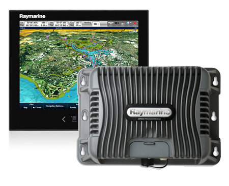 Raymarine G Series screen and porcessor