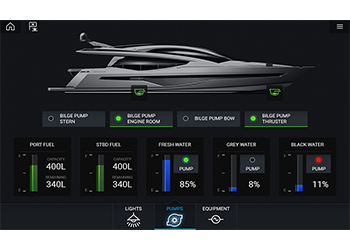 Digital Switching | Raymarine - A Brand by FLIR
